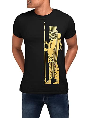 HICH Camiseta Hakhamaneshi, Blanco, XL