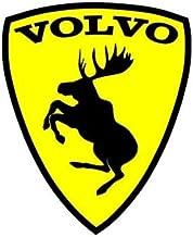 volvo prancing moose sticker