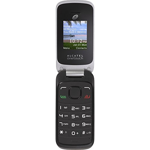 TracFone Alcatel A206G No Contract Phone - Retail Packaging - Black