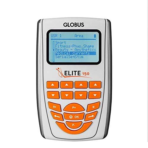 Globus - Electroestimulador Muscular Elite 150-150 + 4 electrodos Myotrode Plus mm. 50 x 90 cm de Regalo - Dispositivo médico CE 0476
