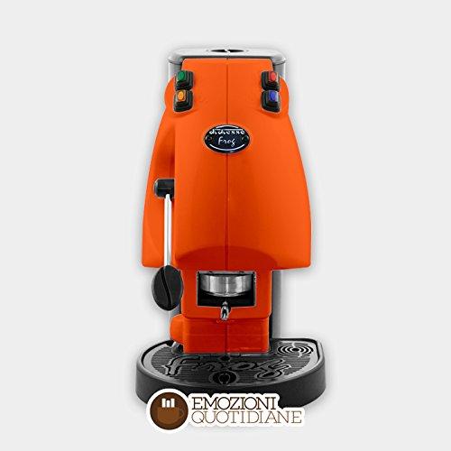 Máquina de café de monodosis de papel Ese 44mm diesse Frog Color Naranja Oscuro