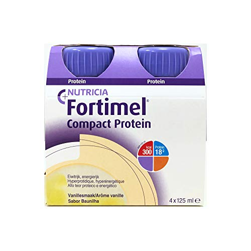 Fortimel Compact Protein Baunilha 125 ml x 4