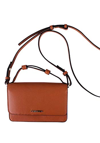 CALVIN KLEIN Women's Flap Mini Bag W/TOP H Accessory-Travel Wallet, Brown, One Size