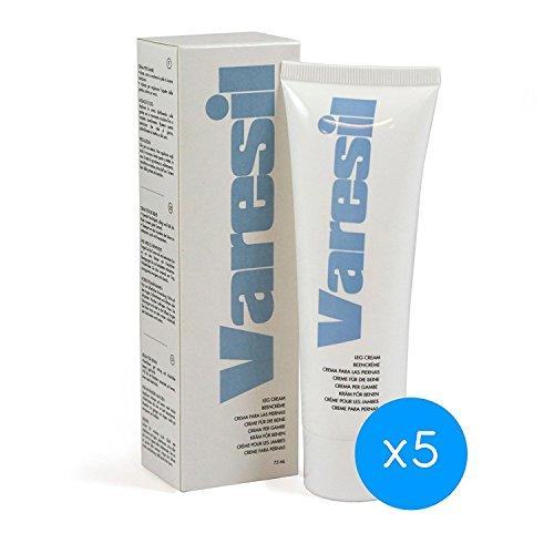 Varices - 5 Varesil Cream: Crema para aliviar las varices