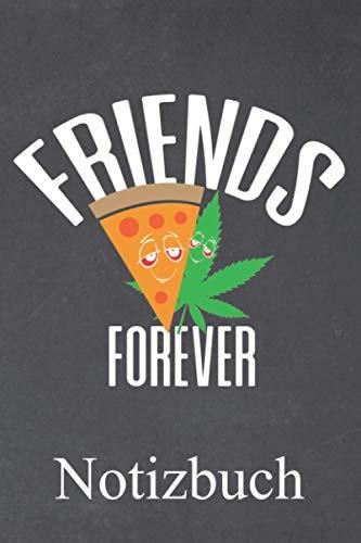 Friends forever Notizbuch: | Notizbuch mit 120 linierten Seiten | Format 6x9 DIN A5 | Soft cover matt |