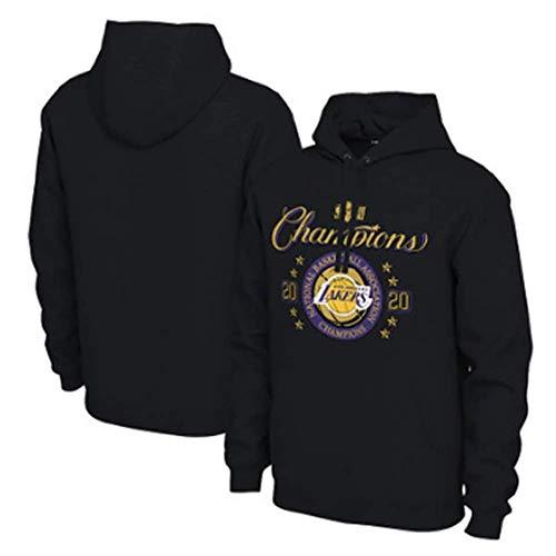 N/G Herren Basketball Hoodie-2020 Lakers Championship Gedenkuniform, Lakers 23 Jersey Basketball T-Shirt (Größe: S-3XL)