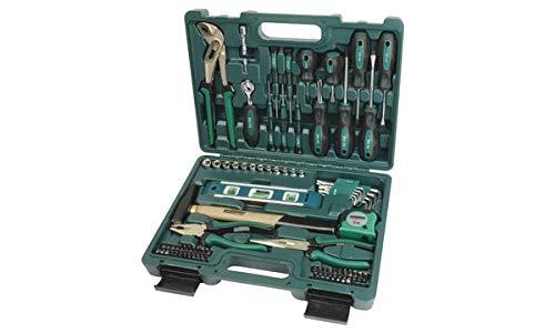 BRÜDER MANNESMANN Werkzeugsatz, 87-teilig, im Koffer, Sie erhalten 1 Produkt mit 87 Teilen