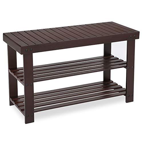 Vintage Kitchen Baker's Rack Utility Storage Shelf Stand Organizer Workstation, 31.5×15.75×32.25 Inches