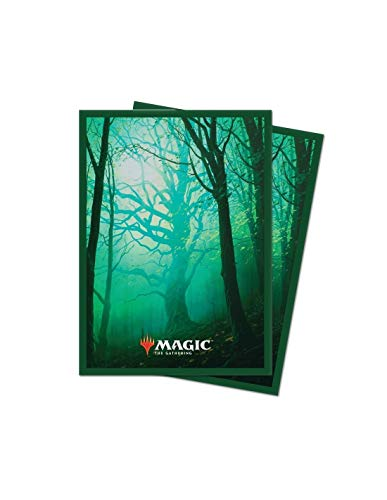 Magic The Gathering Ultra Pro - Standard Deck Protector - Unstable Lands Forrest (100 Sleeves)