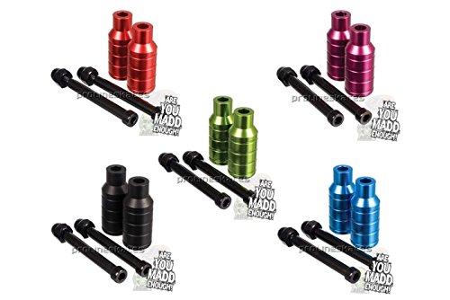 Madd Gear MGP Extreme Pegs pour Trottinette avec essieu