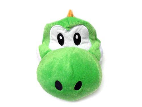 Mario Bro: Super Yoshi verde gorro de disfraz de peluche: Amazon ...