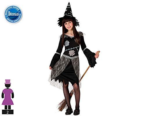 Atosa 14973 Disfraz bruja 10-12 años, talla niña: Amazon.es ...