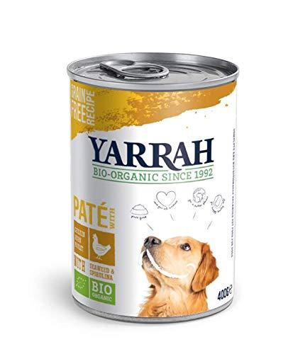 Yarrah Bio Pâté au Poulet pour Chien 400 g