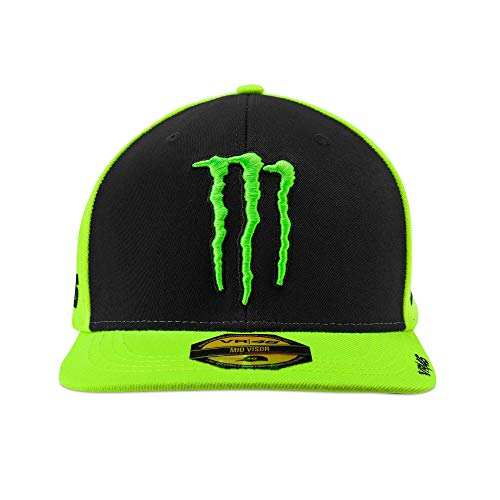 Gorra VR46 Fluo Monster Energy Official MotoGP Valentino Rossi