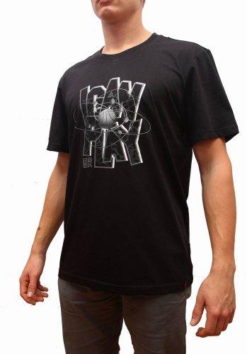 Peak Sport Europe F612211 T-Shirt pour Homme Noir Noir XXL