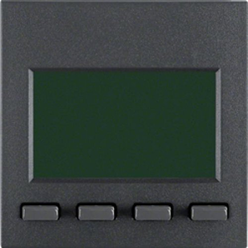 Berker Zeitschaltuhr Easy ant ma 17351606 mit Display B.1;B.3;B.7;S.1 Zeitschaltuhr elektronisch f. Installationsschalterprogramme 4011334289722