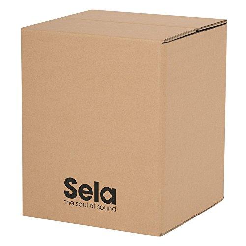 Sela SE 088 Carton Cajon Mini, geeignet für Kinder und Anfänger, Drum Box mit Snare Sound, Made in Germany