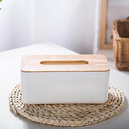 MDRW-Huishoudelijke Multifunctionele Log Papier Handdoek Doos Plastic Doos Zitkamer Toilet Papier Roll Houder Bureau Doos Weefselopslag Doos
