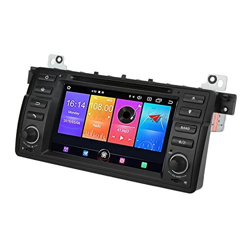 Reproductor Multimedia para Automóvil, para 10.0 Radio GPS Manos Libres de Alta Sensibilidad para Reemplazo de Automóvil para Rover 75 1999-2004