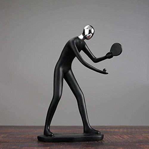 WPXBF Adornos Estatuas Esculturas Escultura Estatua Resina Artes y Manualidades Oficina Club Porche Decoración Decoración Creativa