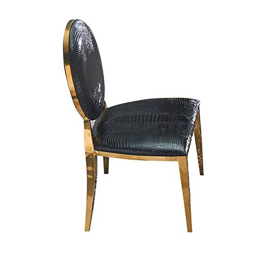 FYMDHB886 Eetstoel leunstoel Lederen bureaustoel Lichte enkele stoel Nagelkruk Onderhandelingsstoel Koffiestoel Vergaderstoel Bank, Size, A