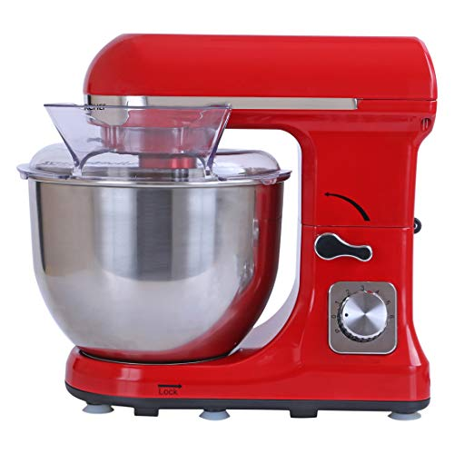 Wonderchef 1000-Watt Stand Mixer (Red)