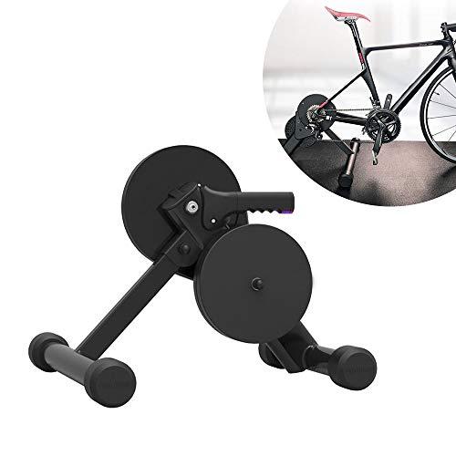 DOLA Road Bicicleta Entrenador,Smart Trainer Inteligente Interior Rodillos para Bicicleta De Fibra De Carbono Marco