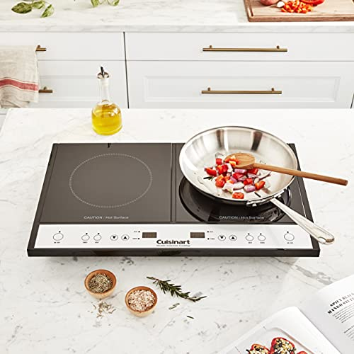 Product Image 4: Cuisinart Double Induction Cooktop, One Size, Black