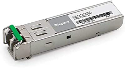 C2G Cisco GLC-ZX-SMD Compatible 1000Base-ZX SFP Transceiver (SMF, 1550nm, 80KM, LC, DOM) TAA Compliant (GLC-ZX-SMD-Leg)