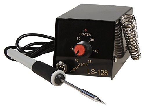 MC POWER - Lötstation | LS-128 | inkl. Micro-Lötkolben 8W, 100-450°C | für Hobby und Beruf | ideal für Einsteiger