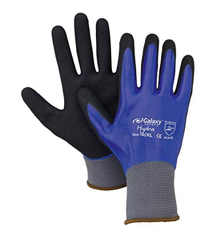 Galaxy Safety - Gants de travail en latex Galaxy Hydra 258