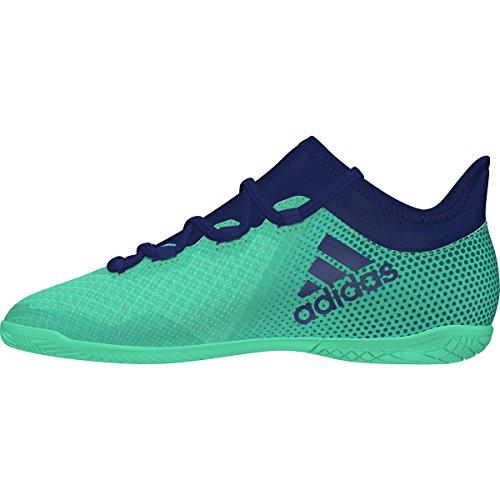 adidas X Tango 17.3 IN Niño, Zapatilla de fútbol Sala, Aero Green-Unity Ink-Hi-Res Green, Talla 34 EU (34 EU)