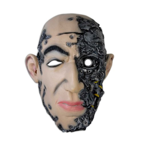 Zoelibat - Máscara para Disfraz de Adulto Terminator, Talla única (97066441.002)