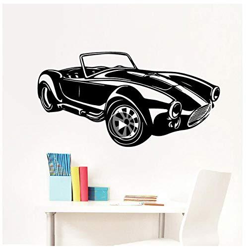 MINGKK - Adhesivo decorativo para pared de coche vintage (43 x 82 cm)