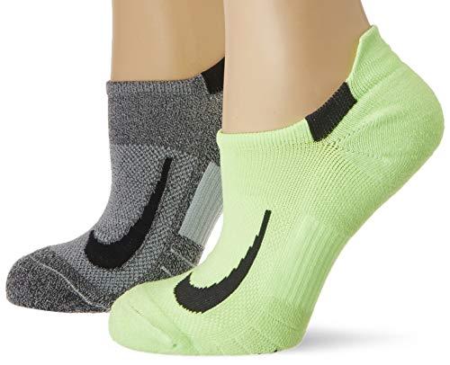 Nike U NK MLTPLIER NS 2PR Socks, gg(dsg)/Wg(blk), XL