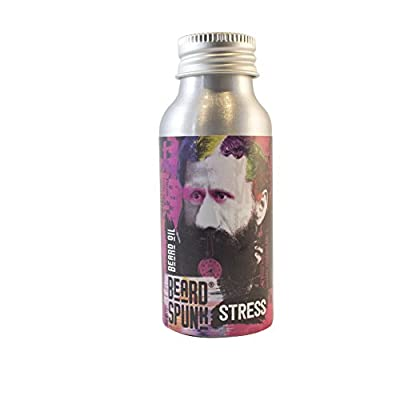 Beard Spunk ® GERANIUM Premium Beard & Moustache Oil - Large Bottle 50ml by Beard Spunk ®
