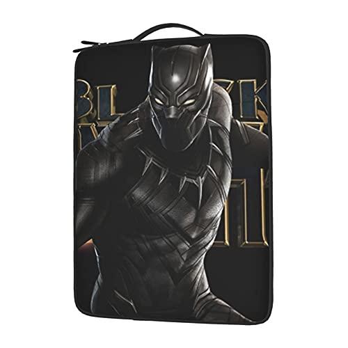 Black Panther Laptop Sleeve Bag Case Leeve Bag Portable Computer Liner Notebook Tablet Laptop Cover 13-15.6 Inch