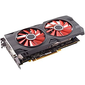 XFX RX 570 4GB GDDR5 RS XXX Edition PCI-Express 3.0 Graphics Card RX-570P427D6,Black/Red