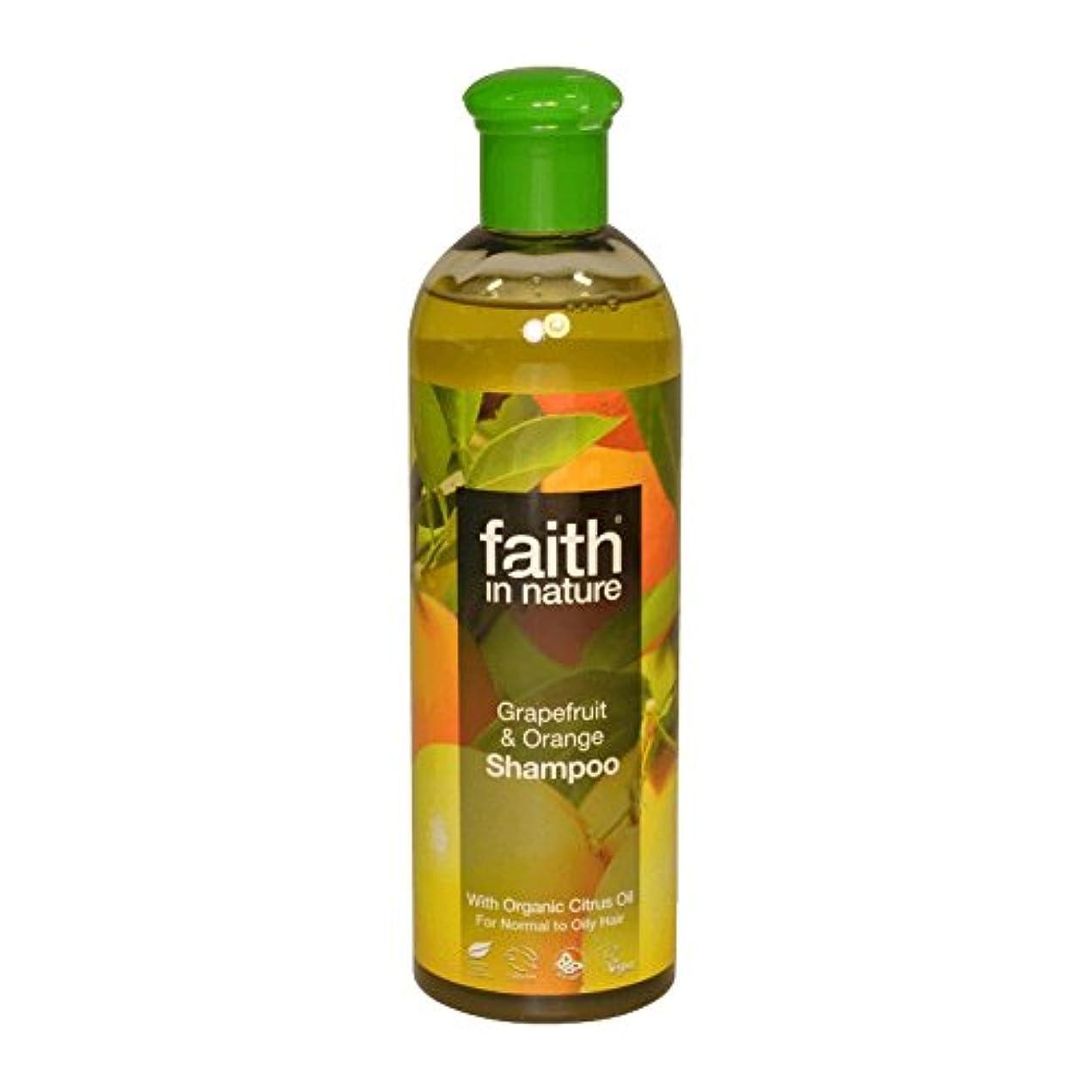 診断する取る平和なFaith in Nature Grapefruit & Orange Shampoo 400ml (Pack of 6) - 自然グレープフルーツ&オレンジシャンプー400ミリリットルの信仰 (x6) [並行輸入品]