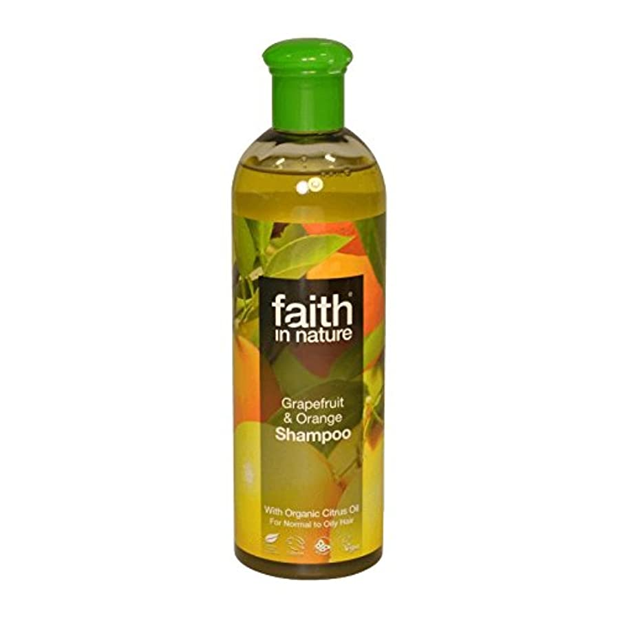 ブラジャーオアシスユダヤ人自然グレープフルーツ&オレンジシャンプー400ミリリットルの信仰 - Faith in Nature Grapefruit & Orange Shampoo 400ml (Faith in Nature) [並行輸入品]
