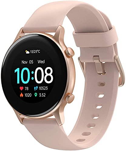 UMIDIGI Urun S Smartwatch Mujer Hombre Reloj Inteligente con Monitoreo de Oxígeno en Sangre y Frecuencia Cardíaca, Seguimiento del Sueño, Reloj de Carrera Impermeable con 17 Modos Deportivos