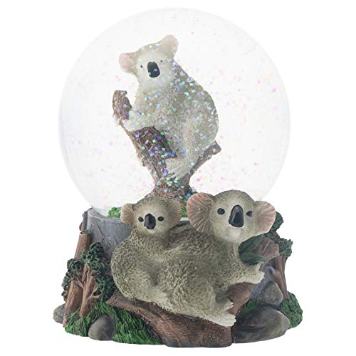 Image of Cute Musical Koala Bear Water Globe