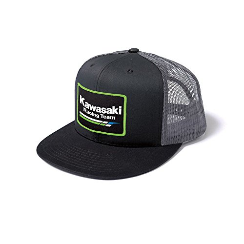 Factory Effex (18-86102 Snap-Back Hat (Grey/Black)