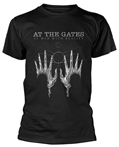 opie At The Gates 'At War with Reality' T-Shirt - New & a!