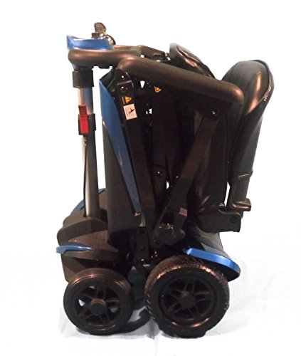 Transformer Electric Folding Mobility Scooter (Blue)