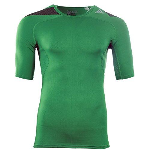 Adidas Techfit Powerweb T-Shirt grün M