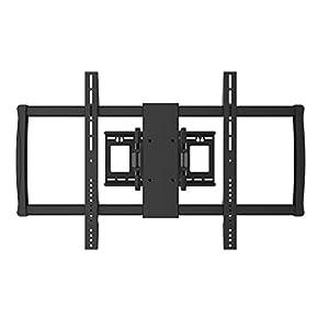 """Black Full-Motion Tilt/Swivel Wall Mount Bracket for Sharp LC-80UH30U 80"""" inch 4K UHD HDTV TV/Television - Articulating/Tilting/Swiveling"""