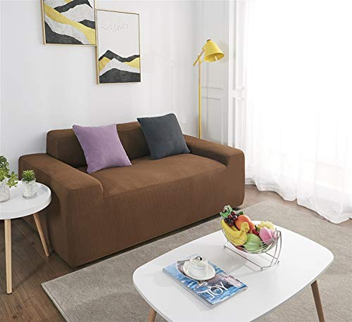 kengbi Easy To Install And Comfortable Sofa Cover Sofa Cover,Sofa Cover Waterproof Solid Color High Stretch Slipcover All-inclusive Elastic Couch Cover Sofa Covers For Dining Room
