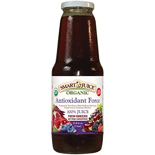 Smart Juices Antioxidant Force Organic Juice, 33.8 oz., 6 Piece