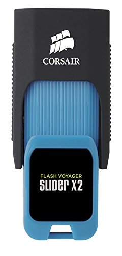 Corsair CMFSL3X2-512GB Voyager Slider X2 Schnell Flash Drive (512GB, USB 3.0) mehrfarbig